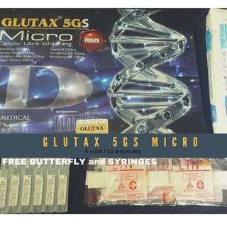 Glutax 5GS Micro  6 vials