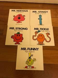 Mr men book bundle