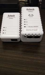 Aztech wireless - N Extender Home Plug
