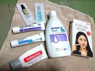 Anti-Acne Adapalene and Benzac Bundle