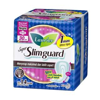 Laurier Super Slimguard Night 30cm (Sanitary Pad)