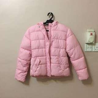 UK Pink Winter Jacket #ramadan50