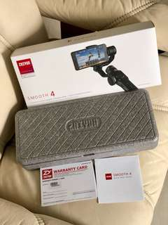 Zhiyun Smooth 4 (No Swapping or Trade In)