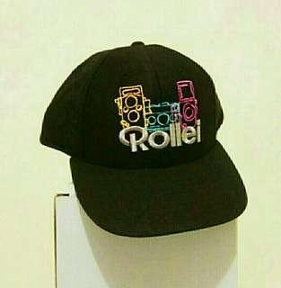 绝版經典菲林年代 :Rollei 相機紀念版帽 (歲月收藏品)