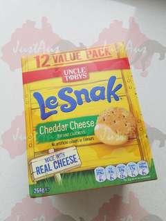 澳洲Le snak 芝士餅🧀 (一盒12 packs)