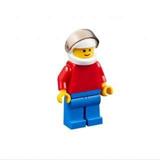 Lego Classic 10402 - Fun Future Minifigure with White Helmet, Trans-Black Visor