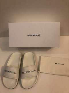(Unisex) Balenciaga Logo slides