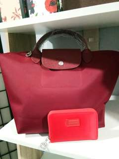 LONGCHAMP MEDIUM SIZE