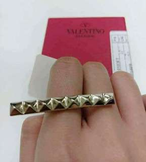 Valentino rockstud ring brand new