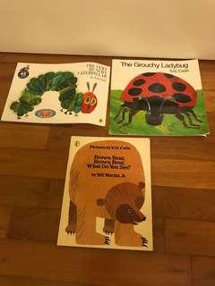 Eric Carle book bundle