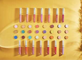 [❤️AVAIL FOR PO] Colourpop festival collection new in 24 new pressed powder shadow & 14 new ultra satin lips PO