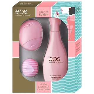 EOS Pink Lip and Lotion Gift Set