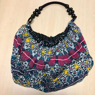 Fabric Hobo Bag