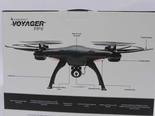 104. FPV RC Drone 2.4Ghz Voyager 6-axis Gyroscope battery Led Props iOS Andriod Multirotor Gift Radio control Drone RC cars Remote control Plane