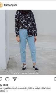 Karoonguni Boyfriend Jeans
