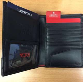 Tumi Alpha ID Lock Passport Case Holder (Cathay Pacific CX Collectibles) 國泰航空紀念品 波士頓-香港航線首航 護照套 Passport套