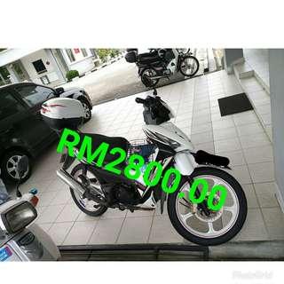 MOTOR WAVE 125CC TAHUN 2011 UNTUK DIJUAL SEGERA BERMINAT BOLEH CALL TERUS ZMT ENTERPRISE 0175890078