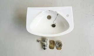 new Johnson Suisse tap and sink