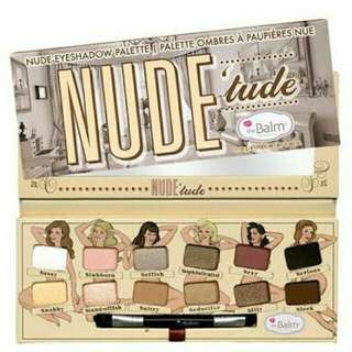 The Balm Nude tude Eyeshadow pallete