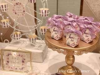 Candy corner 糖果吧 婚宴 百日宴