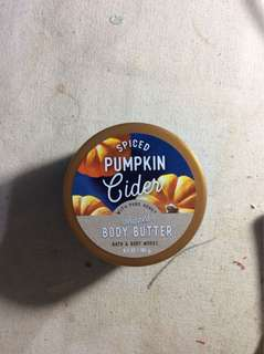 Pumpkin Cider - whipped body butter