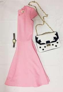 Shy Pink Dress
