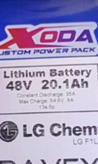 48v 20ah Battery good for DYU
