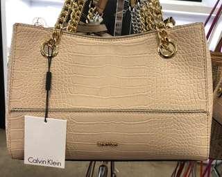 ORIGINAL Calvin Klein Beige Leather (In transit)