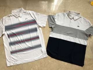 Polo Shirt Lacoste Sport & Nike Golf Tiger Woods