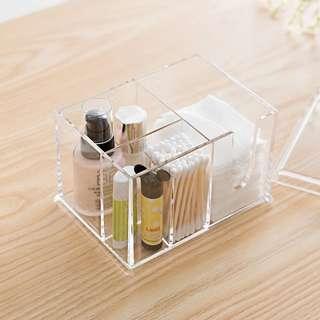 Makeup Organizer Storage Transparent Box