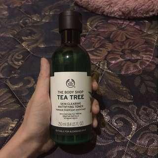 Body shop / body shop toner / tea tree / the body shop
