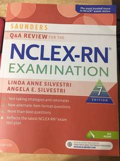 Saunders Q & A review nclex rn examination 7th edition