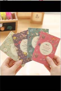 Small Lined notebooks