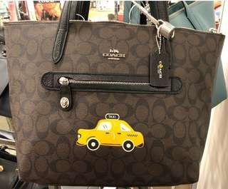 Original Coach w/yellow taxi icon Bag (In transit)
