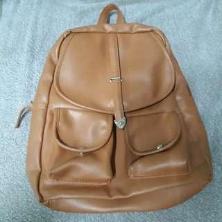 Korean brown sling/bag preloved