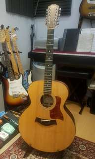 Taylor 355 12-string Jumbo Acoustic with passive pickup