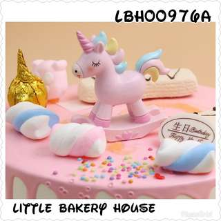 Bakery LBH00976A cake deco horse pink