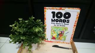 [FreeMail] 100 Words Kids Need to Read by 1st Grade $8