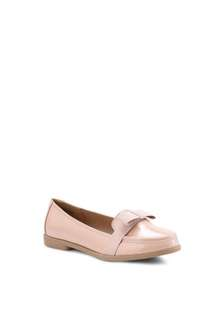 RUBI COTTON ON NUDE LOAFERS SIZE 9
