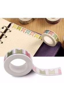 1pc DIY Self Adhesive Washi Tape or Masking Tape for Decoration Scrapbooking Planner