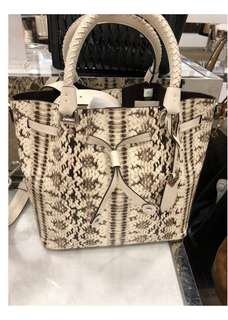 ORIGINAL Michael Kors Snake Skin Tote Bag (In transit)