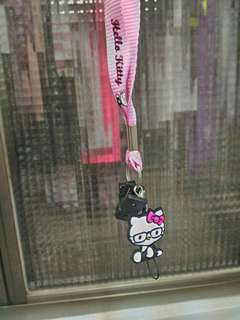 🚚 hello kitty 手機吊飾 脖子吊飾