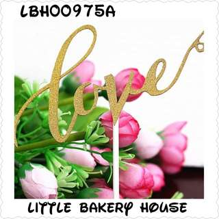 Bakery LBH00975 cake deco gold