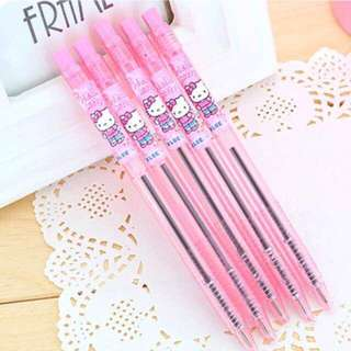 🚚 5 For $5 !! Hello Kitty Ball Pen Blue Ink