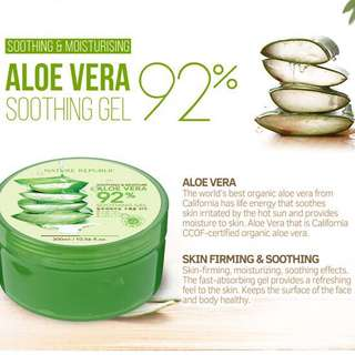 Nature Republic 92% Aloe Vera Soothing Gel Original