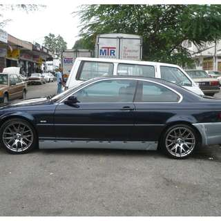 BMW 3 Series E46 Racing Dynamics Bodykit