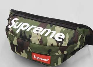 Supreme Pouch - Waist/Shoulder - Camo Green