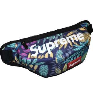 Supreme Pouch - Waist/Shoulder - Blue leaf