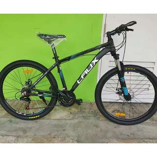 """Free delivery! Laux 26"""" Aluminum Seamless Frame MTB ✩ Shimano 21 Speeds, Disc brakes, Front Suspension, tube inner running cables ✩ Brand new Bicycles!"""