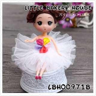 Bakeey LBH00971 music cake deco white